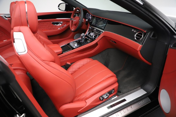 New 2020 Bentley Continental GTC V8 for sale $277,110 at Bugatti of Greenwich in Greenwich CT 06830 28