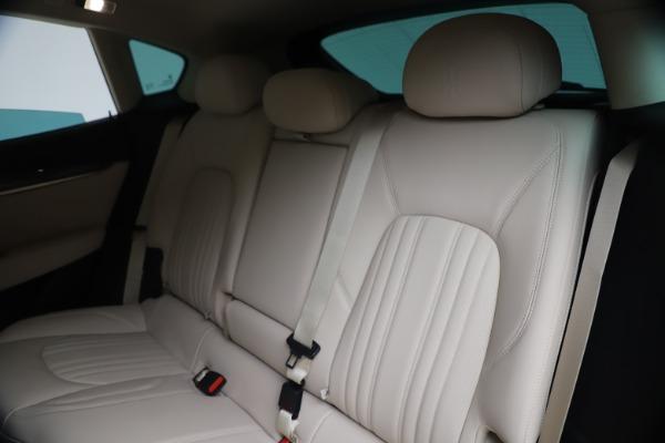 New 2020 Maserati Levante S Q4 GranLusso for sale Sold at Bugatti of Greenwich in Greenwich CT 06830 18