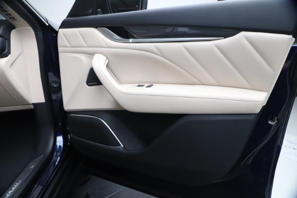 New 2020 Maserati Levante S Q4 GranLusso for sale Sold at Bugatti of Greenwich in Greenwich CT 06830 25