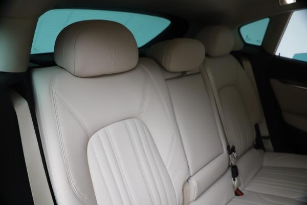 New 2020 Maserati Levante S Q4 GranLusso for sale Sold at Bugatti of Greenwich in Greenwich CT 06830 26