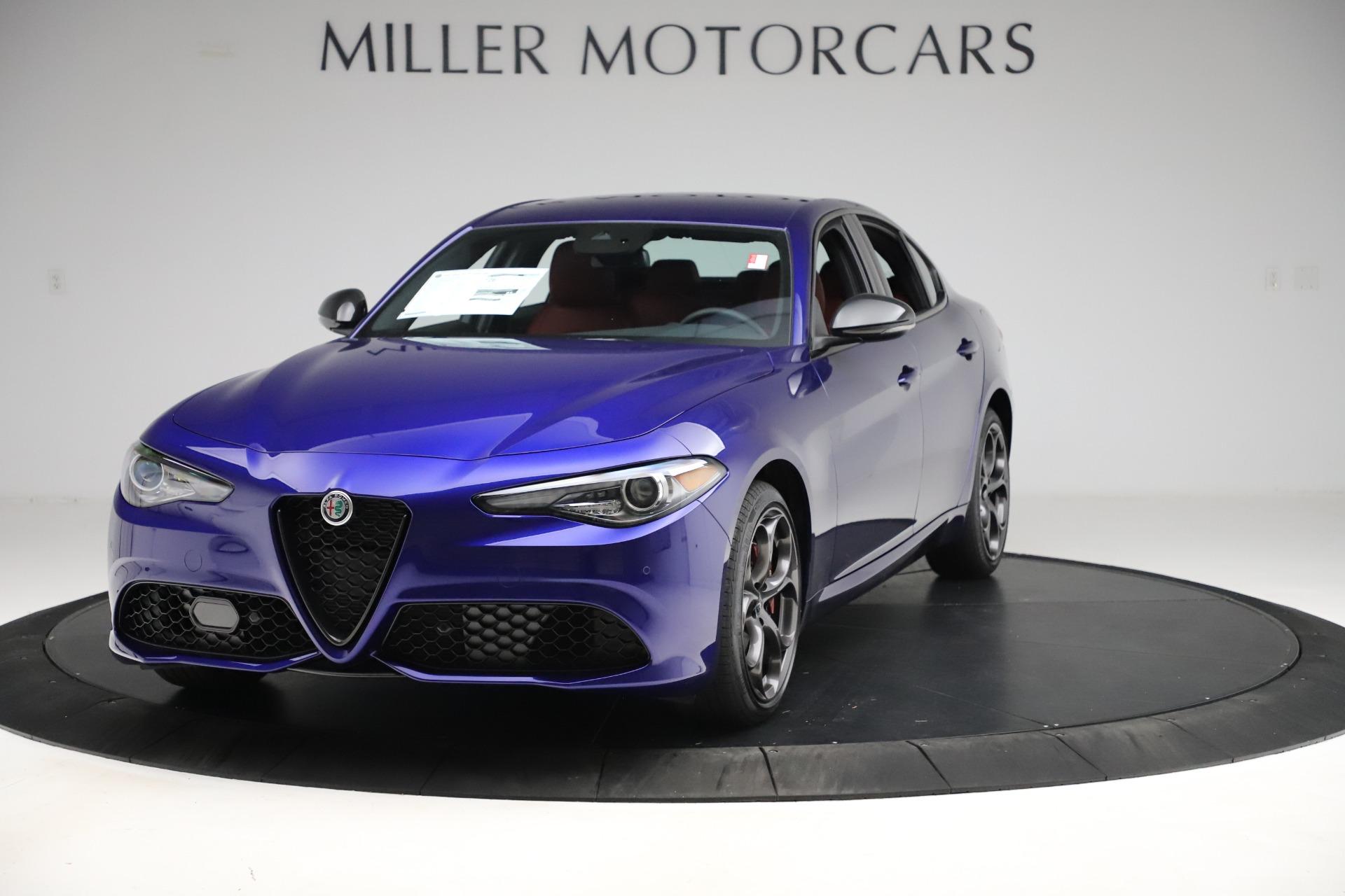 New 2020 Alfa Romeo Giulia Ti Sport Q4 for sale $50,445 at Bugatti of Greenwich in Greenwich CT 06830 1