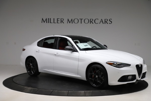 New 2020 Alfa Romeo Giulia Ti Sport Q4 for sale $51,995 at Bugatti of Greenwich in Greenwich CT 06830 10
