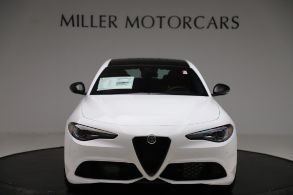 New 2020 Alfa Romeo Giulia Ti Sport Q4 for sale $51,995 at Bugatti of Greenwich in Greenwich CT 06830 12