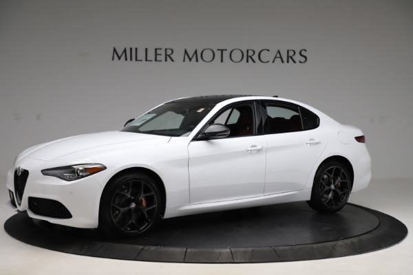 New 2020 Alfa Romeo Giulia Ti Sport Q4 for sale $51,995 at Bugatti of Greenwich in Greenwich CT 06830 2