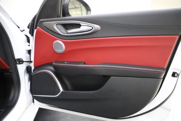 New 2020 Alfa Romeo Giulia Ti Sport Q4 for sale Sold at Bugatti of Greenwich in Greenwich CT 06830 26
