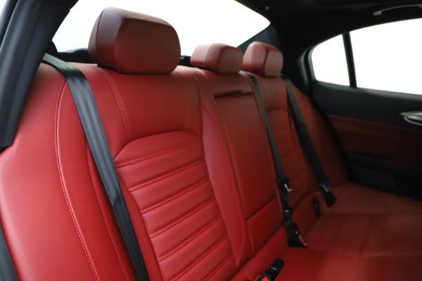 New 2020 Alfa Romeo Giulia Ti Sport Q4 for sale Sold at Bugatti of Greenwich in Greenwich CT 06830 27