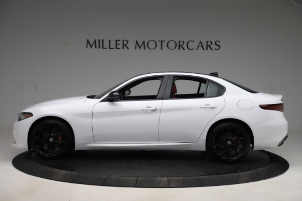 New 2020 Alfa Romeo Giulia Ti Sport Q4 for sale $51,995 at Bugatti of Greenwich in Greenwich CT 06830 3