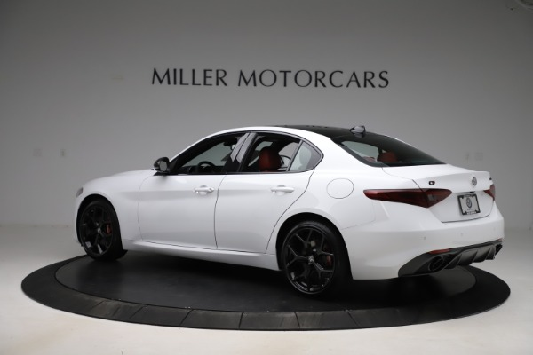 New 2020 Alfa Romeo Giulia Ti Sport Q4 for sale $51,995 at Bugatti of Greenwich in Greenwich CT 06830 4