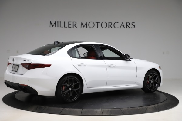 New 2020 Alfa Romeo Giulia Ti Sport Q4 for sale $51,995 at Bugatti of Greenwich in Greenwich CT 06830 8