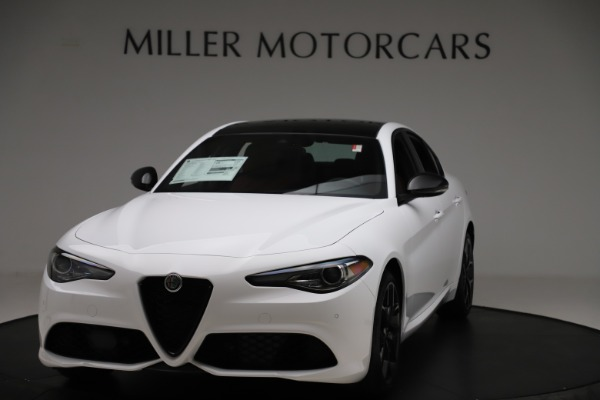 New 2020 Alfa Romeo Giulia Ti Sport Q4 for sale $51,995 at Bugatti of Greenwich in Greenwich CT 06830 1