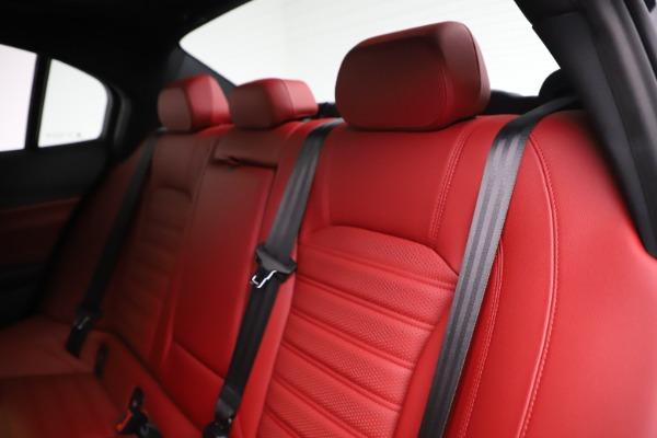 New 2020 Alfa Romeo Giulia Ti Sport Q4 for sale Sold at Bugatti of Greenwich in Greenwich CT 06830 18