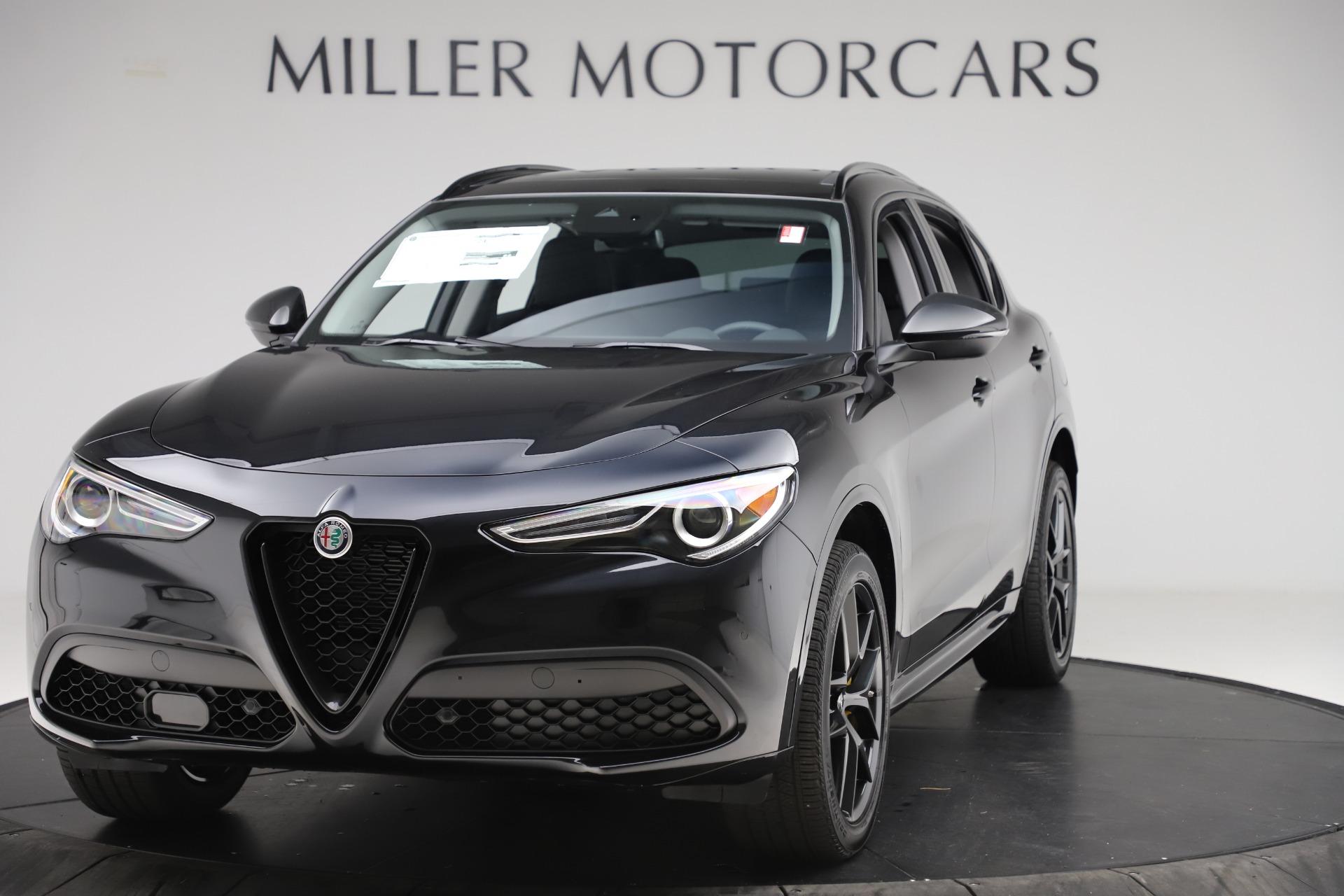 New 2020 Alfa Romeo Stelvio Sport Q4 for sale $50,795 at Bugatti of Greenwich in Greenwich CT 06830 1