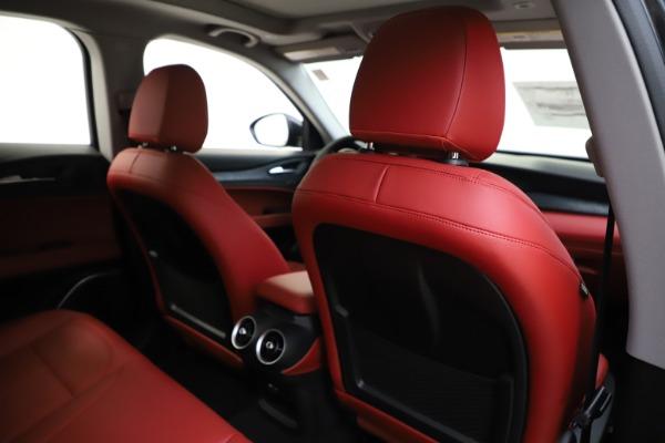 New 2020 Alfa Romeo Stelvio Sport Q4 for sale Sold at Bugatti of Greenwich in Greenwich CT 06830 28