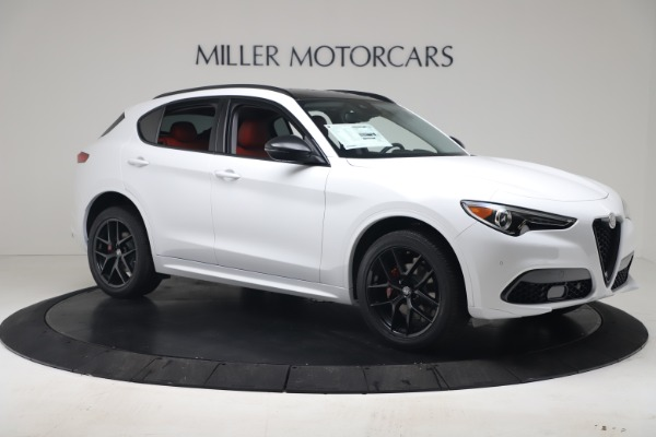New 2020 Alfa Romeo Stelvio Sport Q4 for sale $50,195 at Bugatti of Greenwich in Greenwich CT 06830 10