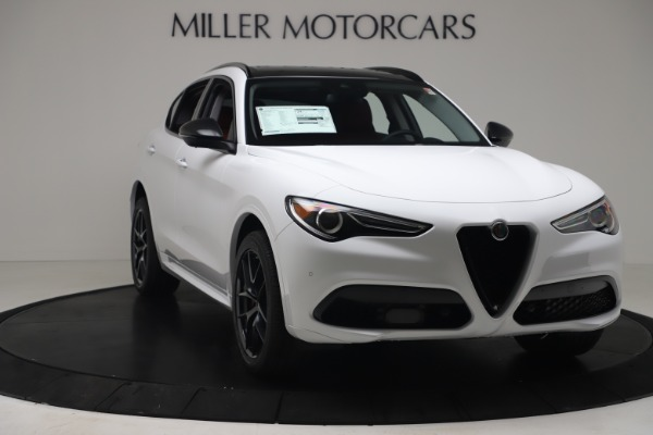 New 2020 Alfa Romeo Stelvio Sport Q4 for sale $50,195 at Bugatti of Greenwich in Greenwich CT 06830 11