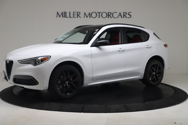 New 2020 Alfa Romeo Stelvio Sport Q4 for sale $50,195 at Bugatti of Greenwich in Greenwich CT 06830 2