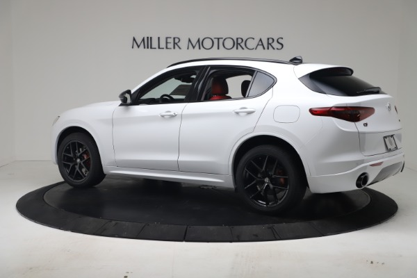 New 2020 Alfa Romeo Stelvio Sport Q4 for sale $50,195 at Bugatti of Greenwich in Greenwich CT 06830 4