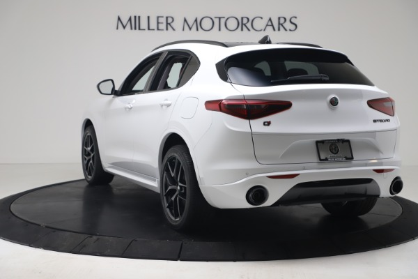 New 2020 Alfa Romeo Stelvio Sport Q4 for sale $50,195 at Bugatti of Greenwich in Greenwich CT 06830 5