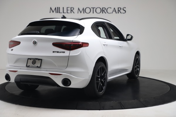 New 2020 Alfa Romeo Stelvio Sport Q4 for sale $50,195 at Bugatti of Greenwich in Greenwich CT 06830 7