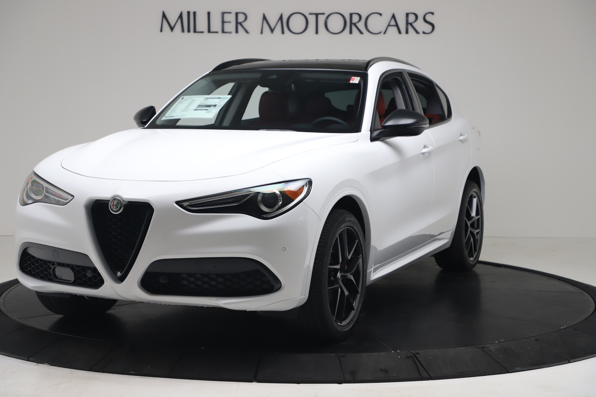 New 2020 Alfa Romeo Stelvio Sport Q4 for sale $50,195 at Bugatti of Greenwich in Greenwich CT 06830 1
