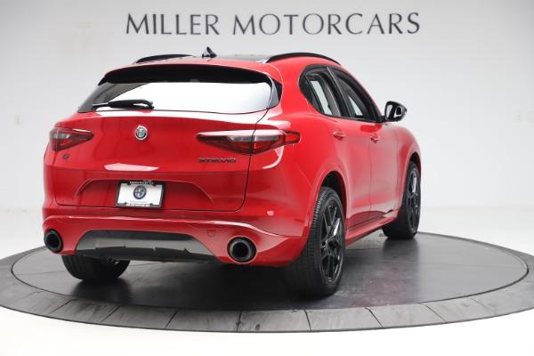 New 2020 Alfa Romeo Stelvio Sport Q4 for sale $50,495 at Bugatti of Greenwich in Greenwich CT 06830 7