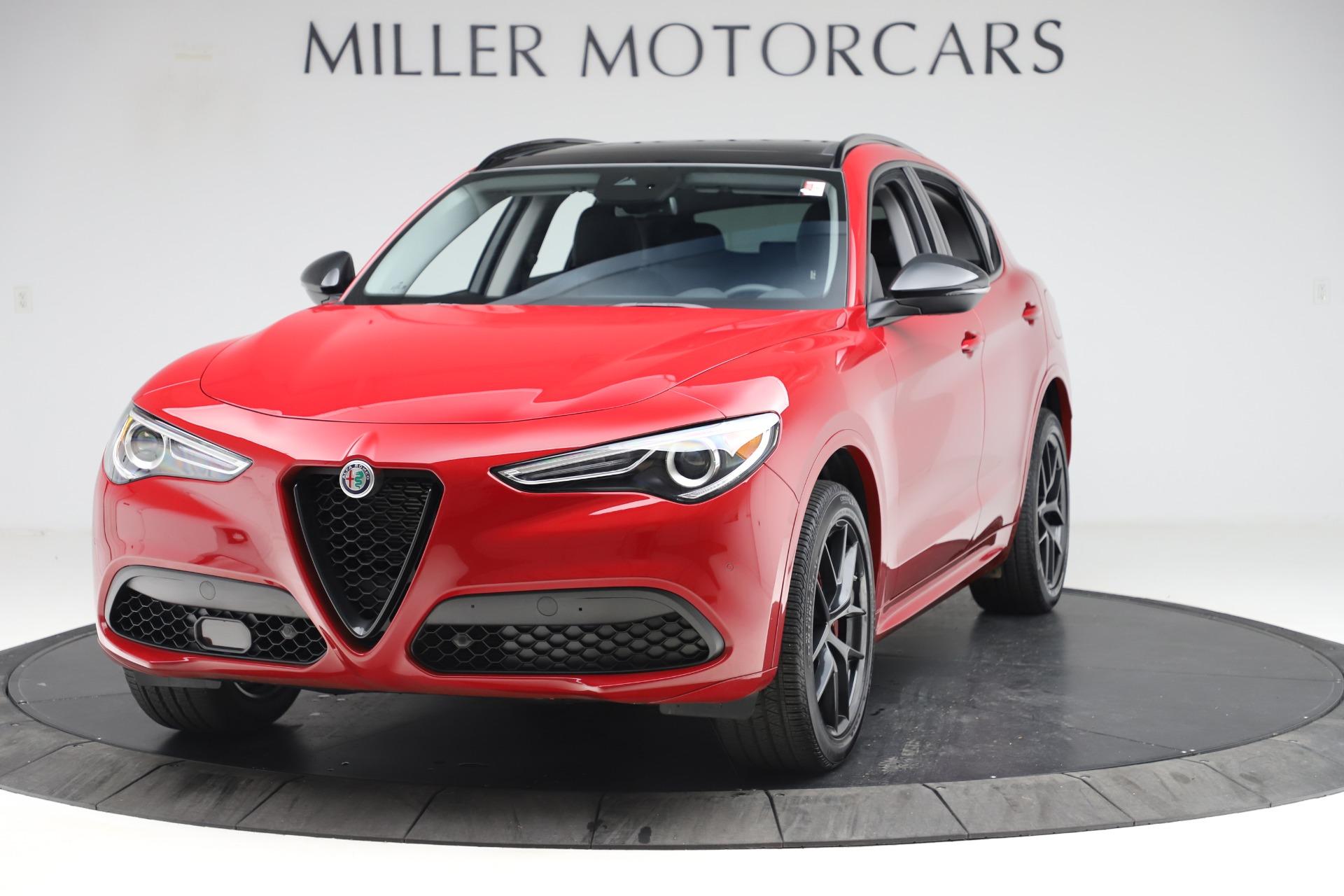 New 2020 Alfa Romeo Stelvio Sport Q4 for sale $50,495 at Bugatti of Greenwich in Greenwich CT 06830 1