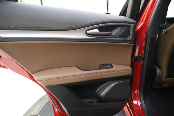 New 2020 Alfa Romeo Stelvio Ti Sport Q4 for sale Sold at Bugatti of Greenwich in Greenwich CT 06830 21