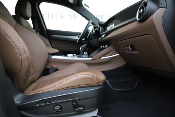 New 2020 Alfa Romeo Stelvio Ti Sport Q4 for sale Sold at Bugatti of Greenwich in Greenwich CT 06830 23