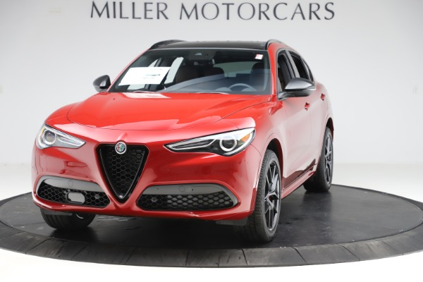 New 2020 Alfa Romeo Stelvio Ti Sport Q4 for sale $58,045 at Bugatti of Greenwich in Greenwich CT 06830 1
