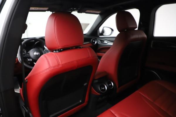 New 2020 Alfa Romeo Stelvio Ti Sport Q4 for sale Sold at Bugatti of Greenwich in Greenwich CT 06830 20
