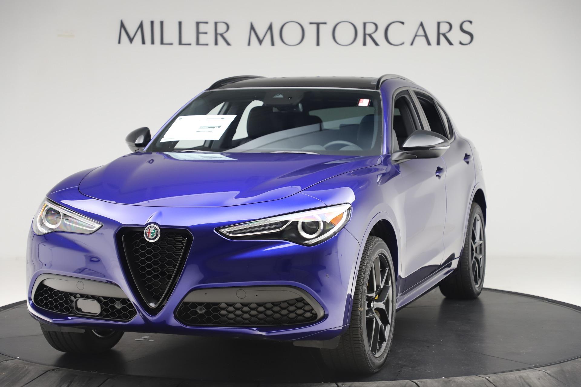 New 2020 Alfa Romeo Stelvio Ti Sport Q4 for sale $57,945 at Bugatti of Greenwich in Greenwich CT 06830 1