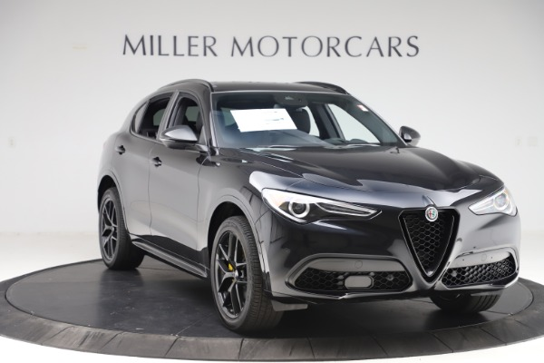 New 2020 Alfa Romeo Stelvio Ti Sport Q4 for sale Sold at Bugatti of Greenwich in Greenwich CT 06830 11