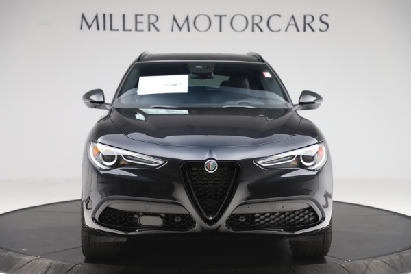 New 2020 Alfa Romeo Stelvio Ti Sport Q4 for sale Sold at Bugatti of Greenwich in Greenwich CT 06830 12