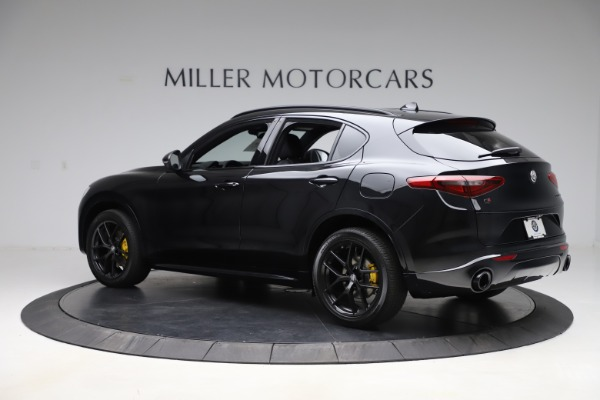New 2020 Alfa Romeo Stelvio Ti Sport Q4 for sale Sold at Bugatti of Greenwich in Greenwich CT 06830 4