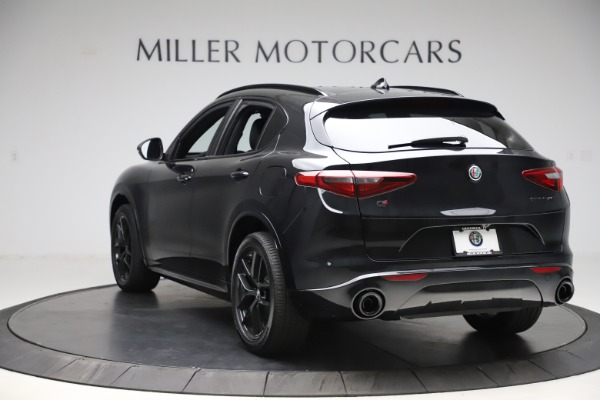 New 2020 Alfa Romeo Stelvio Ti Sport Q4 for sale Sold at Bugatti of Greenwich in Greenwich CT 06830 5