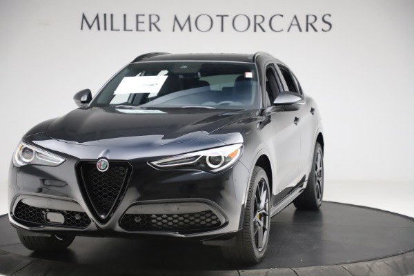 New 2020 Alfa Romeo Stelvio Ti Sport Q4 for sale Sold at Bugatti of Greenwich in Greenwich CT 06830 1