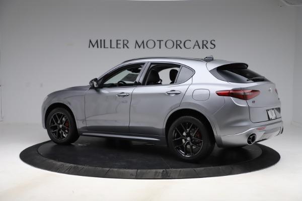 New 2020 Alfa Romeo Stelvio Sport Q4 for sale $51,095 at Bugatti of Greenwich in Greenwich CT 06830 4