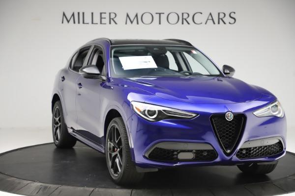 New 2020 Alfa Romeo Stelvio Ti Q4 for sale Call for price at Bugatti of Greenwich in Greenwich CT 06830 11