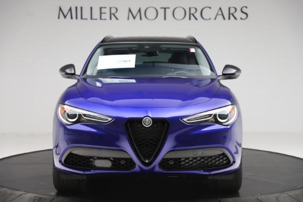 New 2020 Alfa Romeo Stelvio Ti Q4 for sale Call for price at Bugatti of Greenwich in Greenwich CT 06830 12