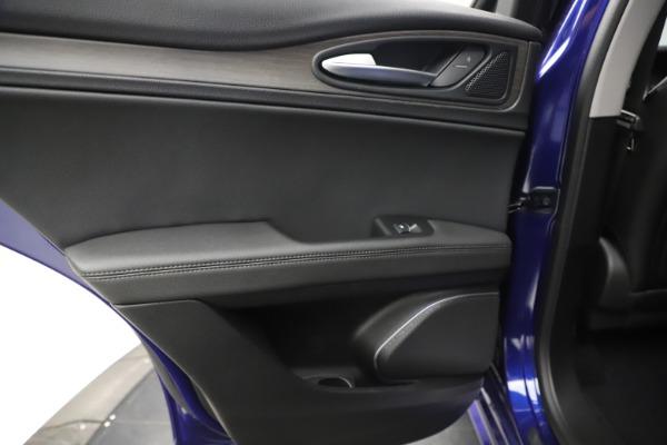 New 2020 Alfa Romeo Stelvio Ti Q4 for sale Call for price at Bugatti of Greenwich in Greenwich CT 06830 21