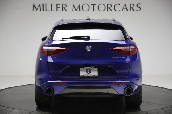 New 2020 Alfa Romeo Stelvio Ti Q4 for sale Call for price at Bugatti of Greenwich in Greenwich CT 06830 6