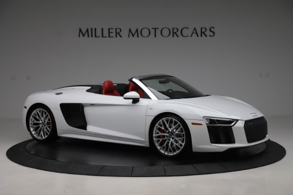 Used 2017 Audi R8 5.2 quattro V10 Spyder for sale $138,900 at Bugatti of Greenwich in Greenwich CT 06830 10