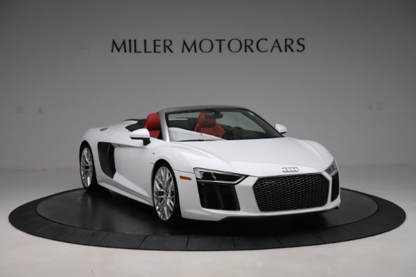 Used 2017 Audi R8 5.2 quattro V10 Spyder for sale $138,900 at Bugatti of Greenwich in Greenwich CT 06830 11