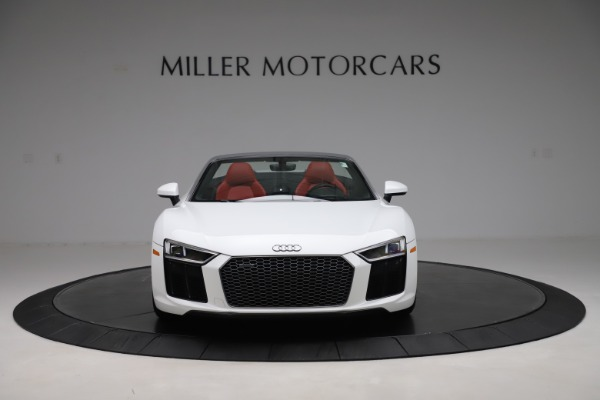 Used 2017 Audi R8 5.2 quattro V10 Spyder for sale $138,900 at Bugatti of Greenwich in Greenwich CT 06830 12