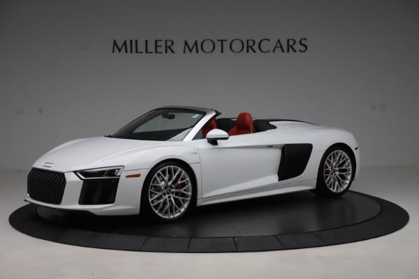 Used 2017 Audi R8 5.2 quattro V10 Spyder for sale $138,900 at Bugatti of Greenwich in Greenwich CT 06830 2