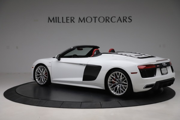 Used 2017 Audi R8 5.2 quattro V10 Spyder for sale $138,900 at Bugatti of Greenwich in Greenwich CT 06830 4