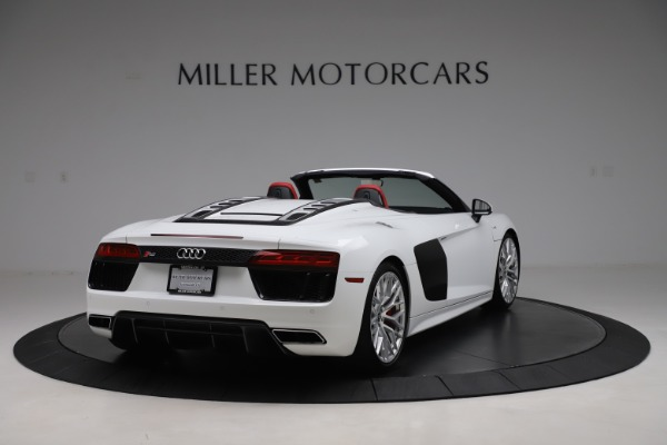Used 2017 Audi R8 5.2 quattro V10 Spyder for sale $138,900 at Bugatti of Greenwich in Greenwich CT 06830 7