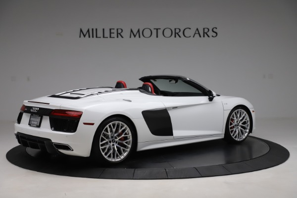 Used 2017 Audi R8 5.2 quattro V10 Spyder for sale $138,900 at Bugatti of Greenwich in Greenwich CT 06830 8