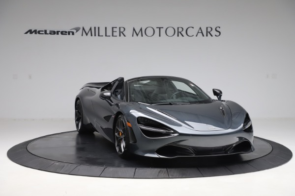 New 2020 McLaren 720S Spider Performance for sale $384,930 at Bugatti of Greenwich in Greenwich CT 06830 10