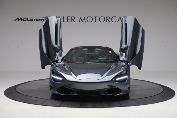 New 2020 McLaren 720S Spider Performance for sale $384,930 at Bugatti of Greenwich in Greenwich CT 06830 12
